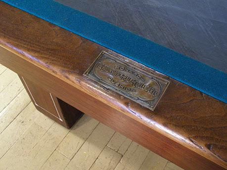 Brunswick Monroe Antique Pool Billiard Table Restoration Repair - Brunswick madison pool table