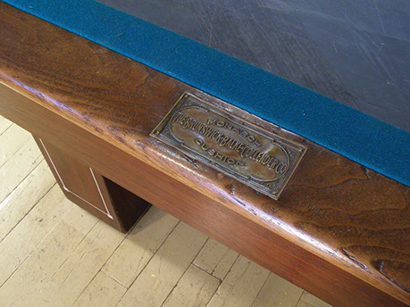 The Late 1920u0027s Brunswick U201cMonroeu201d Was The Last Of The President Tables ( Madison, Jefferson, Monroe) That Shared The Common Characteristics Of  Square Legs, ...