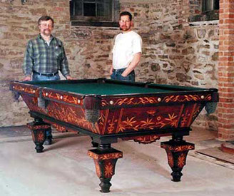 Bankshot Antique Pool Tables Showcase