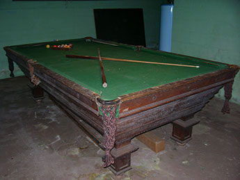 Bankshot Antique Pool Billiard Tables