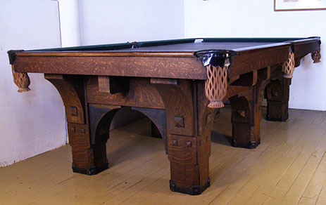 Bbc St Bernard Mission Babcock Antique Pool Billiard
