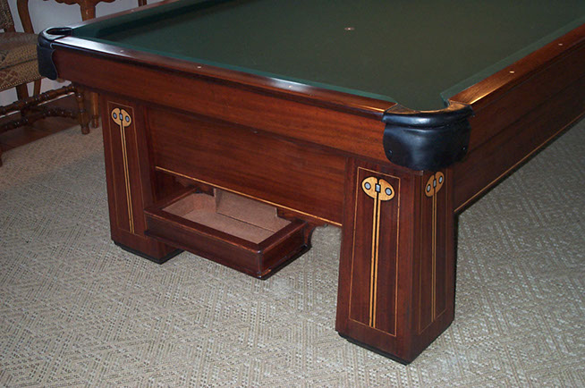 The Regent Has What Is Known As U201cJumbou201d Construction, Similar To The  Brunswick Kling And Arcade. These Are The Heaviest Tables Brunswick ...